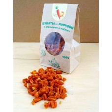 Цукаты из моркови с апельсином и имбирем
