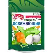 Конфеты освежающие с апельсиновым соком с вит.С (дой-пак)