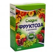Фруктоза кристаллическая с инулином 250 г.