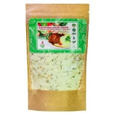 Картофельное пюре с мясом, жареным луком и сливками моментального приготовления 60гр
