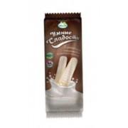Батончики «Умные сладости» со сливочной начинкой в белой глазури