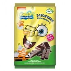 Батончики «Губка Боб» с шоколадной начинкой 110г
