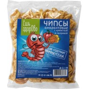 Чипсы «Ешь здорово» со вкусом креветки и паприки