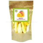 Сублимированный манго резанный  50гр