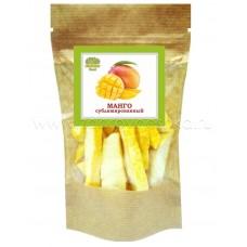 Сублимированный манго резанный (кубики)