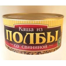 Каша из полбы со свининой ж/б