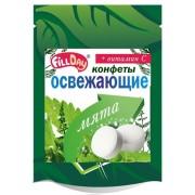 Конфеты освежающие с мятой драже без сахара с вит.С (дой-пак)