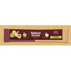 Имбирный батончик фруктово-ореховый натуральный (яблоко)