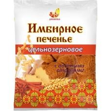 Печенье ИМБИРНОЕ цельнозерновое с овсяными отрубями