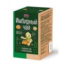 Чай имбирный зеленый с апельсином 1,7г*20пак.