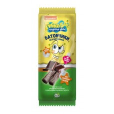 Батончики «Губка Боб» с шоколадной начинкой