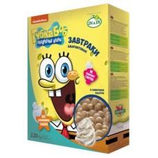 Завтраки амарантовые «Губка Боб» в сливочной  глазури, витаминизированные