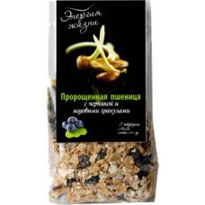 Пророщенная пшеница с черникой и мед.гранулами 120гр