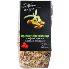 Пророщенная пшеница с ягодами Годжи и мед. гранулами 120гр