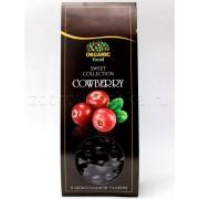 Брусника сублимированная в шоколадной глазури