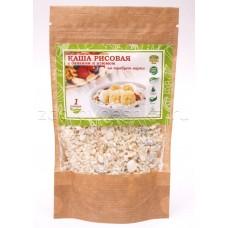 Рисовая каша с бананом, медом и сливками (1 порция)