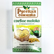 Соевое молоко из пророщенной сои «Русская союшка» Тетра Пак  1 л