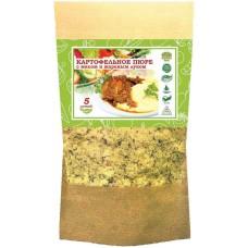Картофельное пюре с мясом, жареным луком и сливками моментального приготовления 130гр. (5 порций)