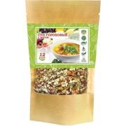 Суп гороховый с пряными овощами и мясом (12 порций)