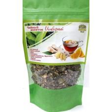 Чай Имбирный (Лист смородины, душица, мята, стевия, лист брусники, имбирь сушеный)