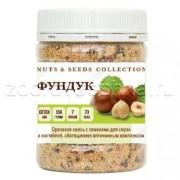 Ореховая смесь на основе фундука с семенами, обогащенная витаминным комплексом
