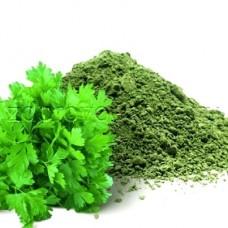 Зелень петрушки сушеная 1кг п/п пакет