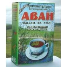 """Чай """"АВАН"""" оздоровительно-витаминный  из 33 трав (2,5г*6пак.)"""