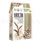 Мюсли глазированные соком, с пророщенной пшеницей и семенами льна и тыквы