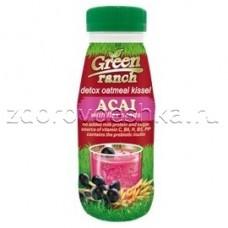 Овсяный кисель с ягодами асаи и семенами льна GREEN RANCH ПЭТ