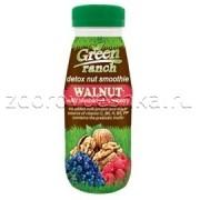 Ореховый смузи грецкие орехи с черникой и малиной GREEN RANCH ПЭТ